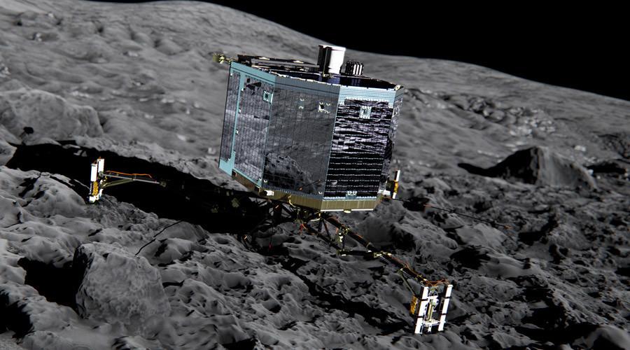 Rosetta's lander Philae © ESA