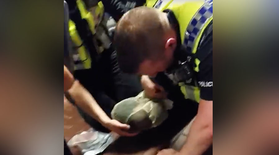 UK police will soon start bagging people's heads during arrests
