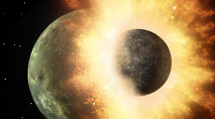 Carbon brought to Earth 4.4bn years ago in planetary smash - study
