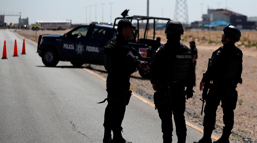 GTA-level violence: Police helicopter shot down during raid on Mexico cartel
