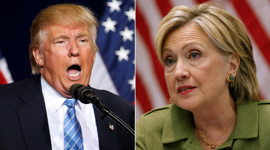 Trump, Clinton battle for military voters in 1st town hall together