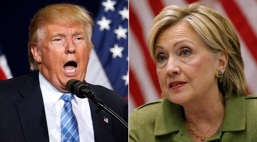 Republican presidential nominee Donald and U.S. Democratic presidential nominee Hillary Clinton © Lucas Jackson / Carlo Allegri