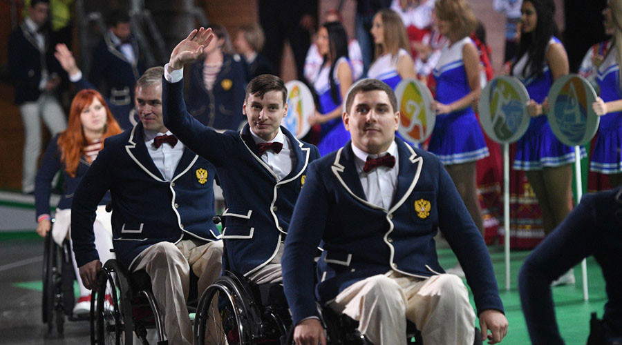 Alternative Paralympics opens in Moscow after Rio blanket ban for Team Russia (VIDEO)