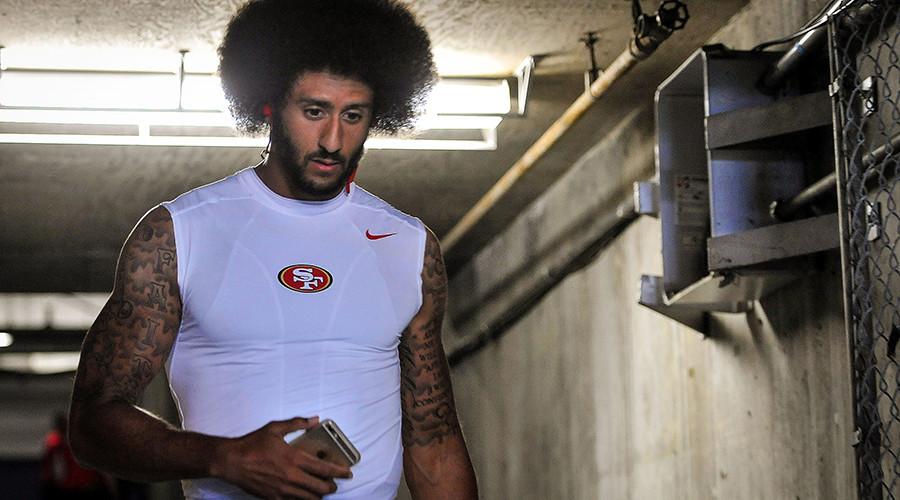 San Francisco 49ers quarterback Colin Kaepernick (7) © Orlando Ramirez