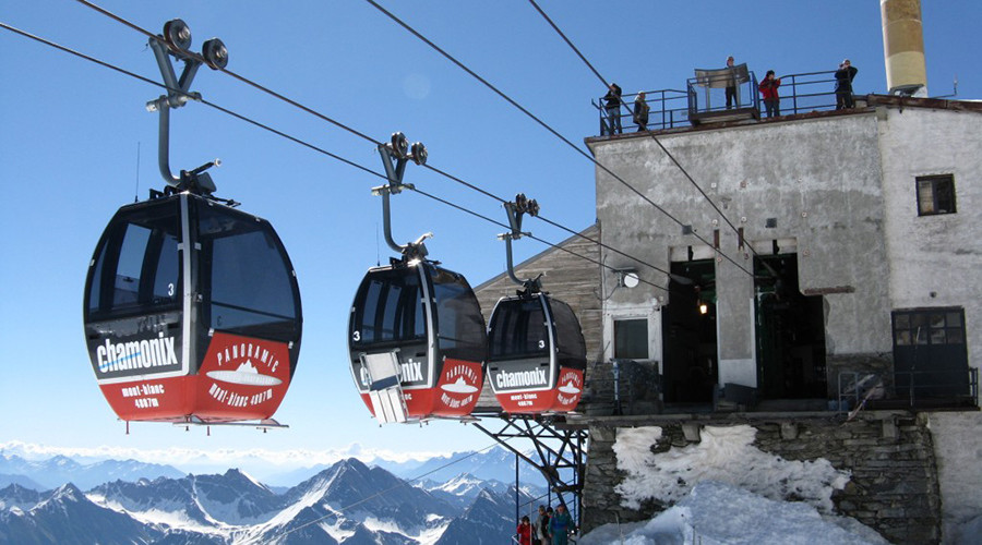 Alpine cliffhanger: 33 stranded overnight in scary Mont Blanc cable car drama
