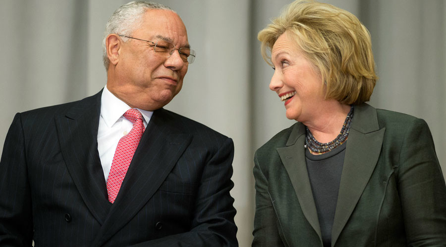 'I could talk to foreign leaders bypassing State Dept': Powell to Clinton on private email use