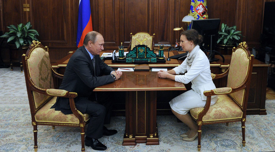 Putin appoints new children's rights ombudsman