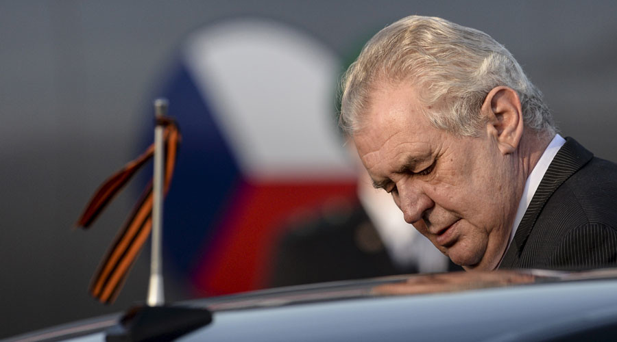 Crimea 'cannot be given back' to Ukraine – Czech president