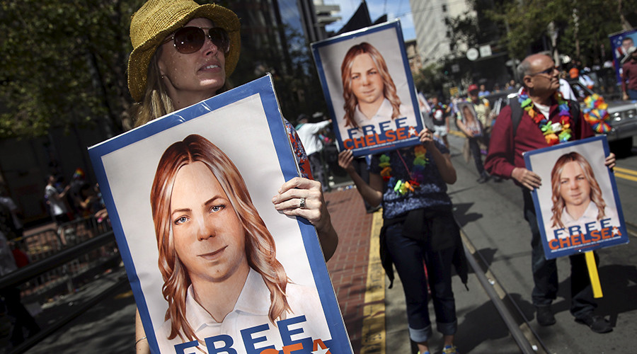 Army whistleblower Chelsea Manning begins hunger strike in prison protest