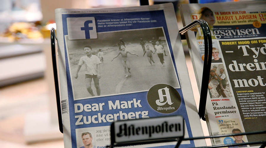 Facebook Slammed for Censoring Iconic Napalm Girl Photo, Deleting Posts