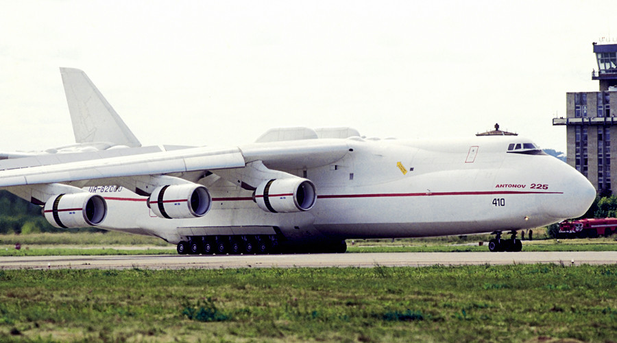 Ukraine's Antonov halts production in 2016 due to lack of Russian parts