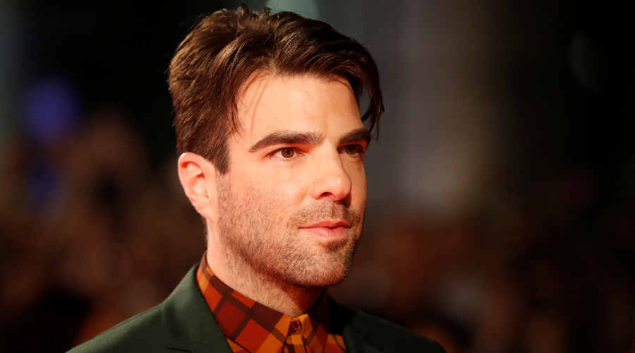 """Zachary Quinto arrives on the red carpet for the film """"Snowden"""" during the 41st Toronto International Film Festival (TIFF), in Toronto, Canada, September 9, 2016. © Mark Blinch"""