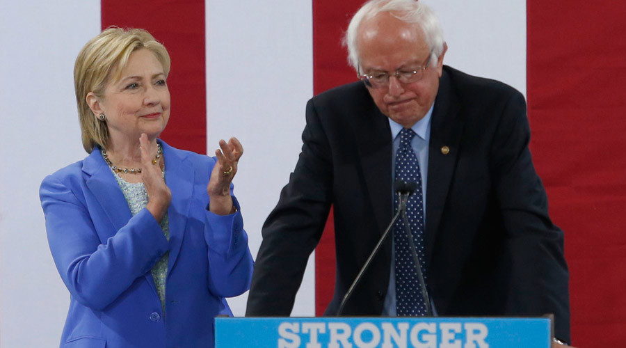 Hillary Clinton has failed to open up a lead on Donald Trump similar to the one Bernie Sanders had before the convention. © Mary Schwalm