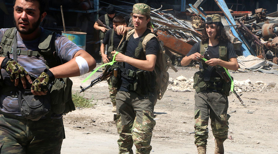 US tells rebels ceasefire deal grants them 'right to self-defense' against Syria & Russia – report