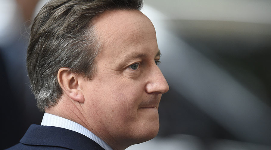 Former British PM David Cameron resigns as MP with immediate effect