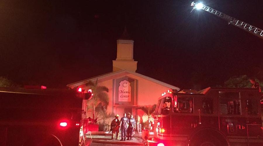 Arson: Florida mosque 'attended by Orlando shooter' set ablaze (PHOTOS)