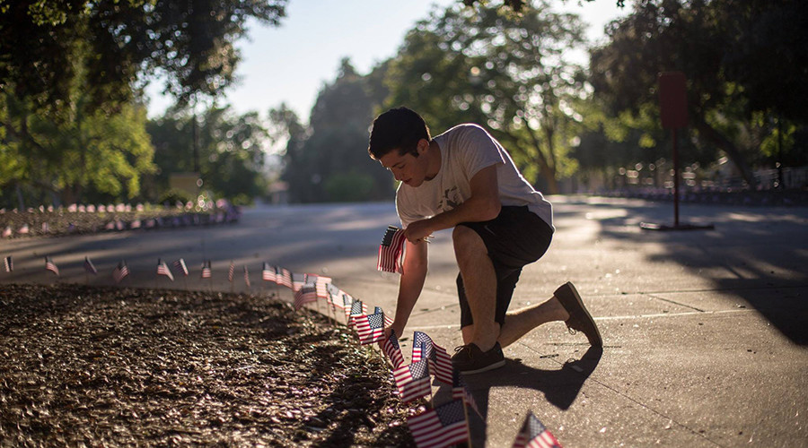 9/11 memorial vandalized at Obama's alma mater