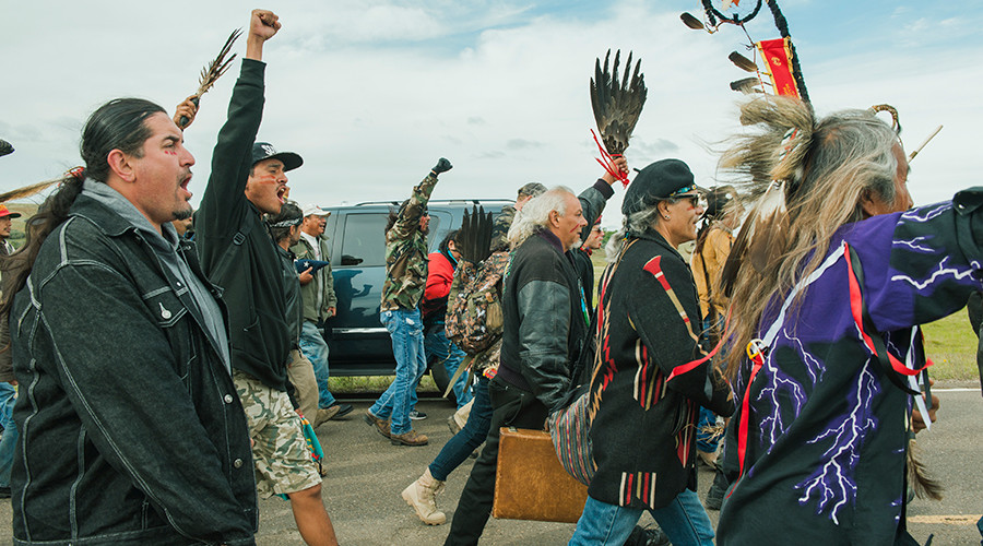 Police arrest 22 after 'swarm' at Dakota pipeline construction site (VIDEO)