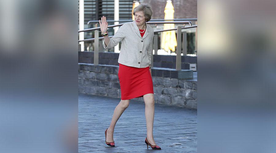 Britain's Prime Minister Theresa May. ©Yui Mok