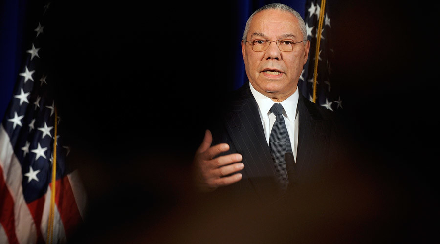 Former U.S. Secretary of State Colin Powell © Jonathan Ernst