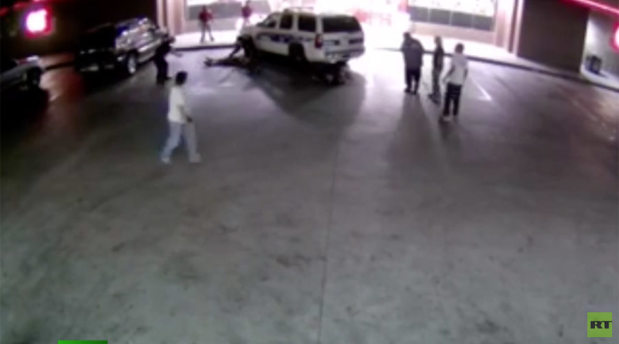 Tough first day: Car slams into Phoenix police officers (VIDEO)