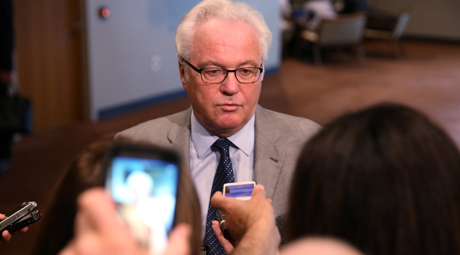 Vitaly Churkin, Russian ambassador to the United Nations © Carlo Allegri