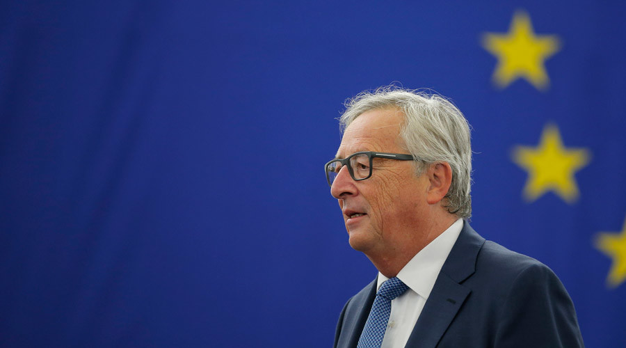 Jean-Claude Juncker dismisses drunk claims ... while 'downing 4 glasses of champagne'