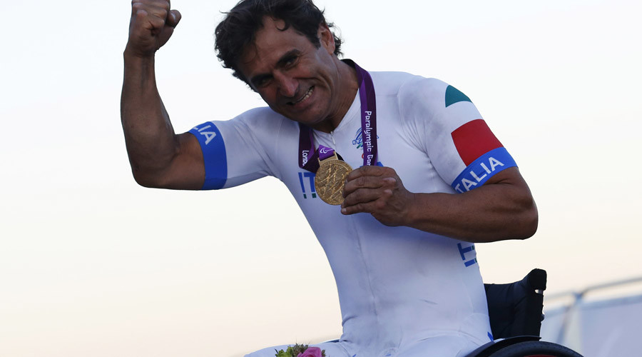 Zanardi wins Paralympic gold on eve of 15th anniversary of fateful crash