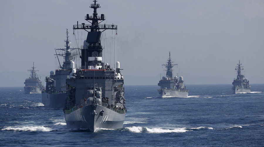 Japan to join US Navy's 'training cruises' in South China Sea
