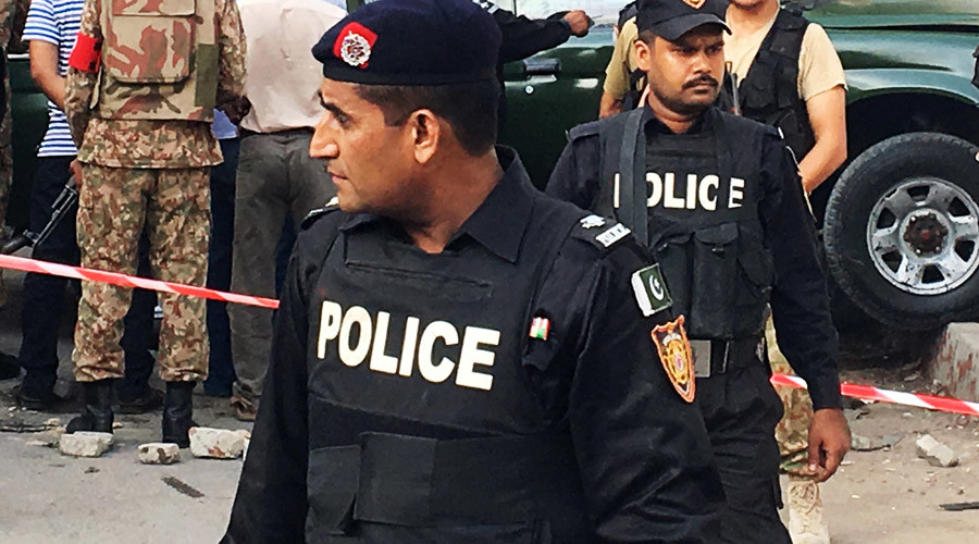 At least 25 dead in terrorist attack on Pakistani mosque