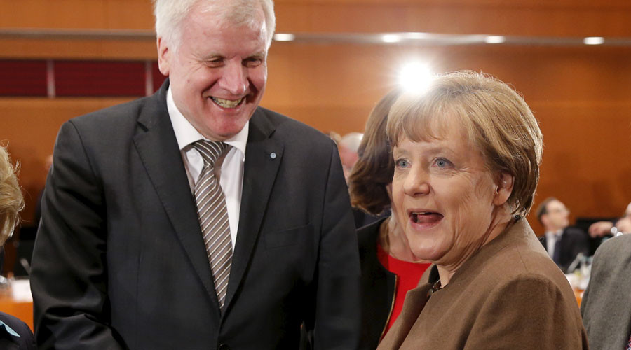 Set upper limits on refugees or lose support at next election, Bavarian PM warns Merkel