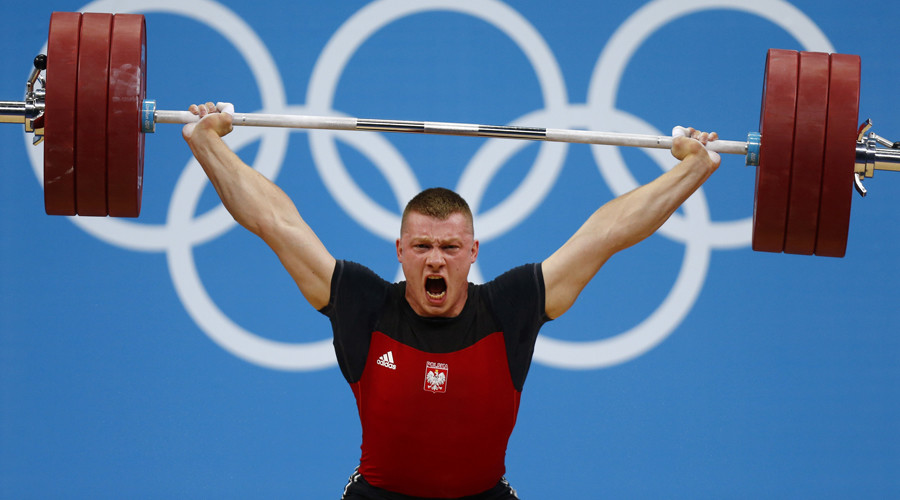 Drugs-ban Polish weightlifter awarded Olympic medal