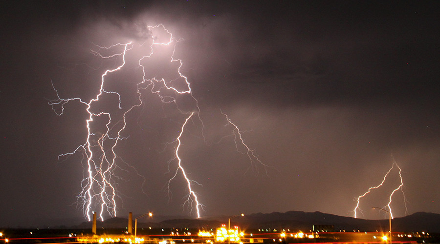 Shocking news: 200 mile lightning bolt sets record as world's longest