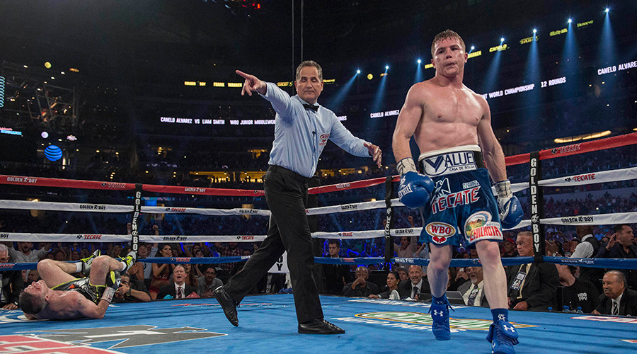 Canelo Alvarez KOs Liam Smith, calls for GGG bout intensify