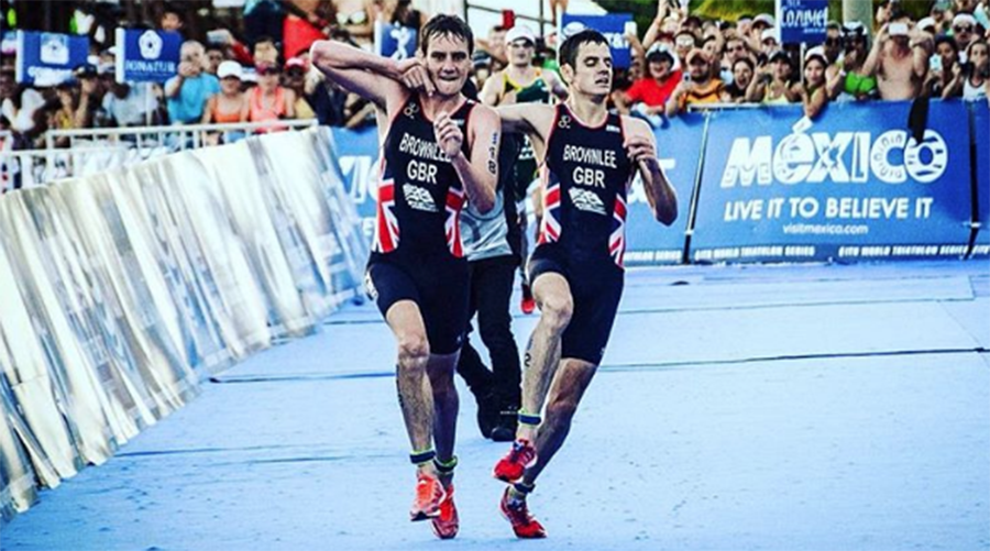 Olympic champion triathlete Brownlee stops racing to help stricken brother (VIDEO)