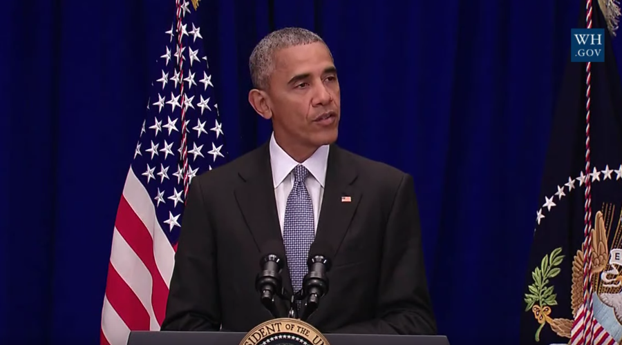 'Don't succumb to fear' - Obama following attacks in New York and New Jersey (WATCH VIDEO)