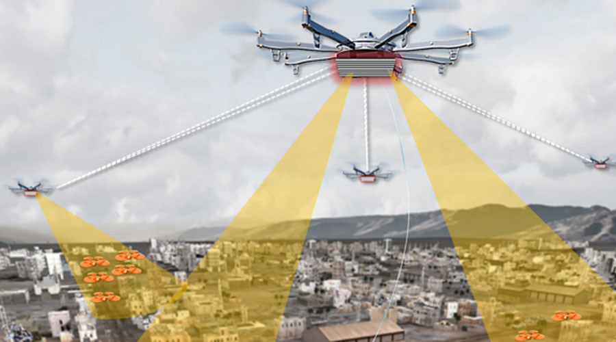 DARPA's 'Aerial Dragnet' to monitor low-flying drones in urban areas