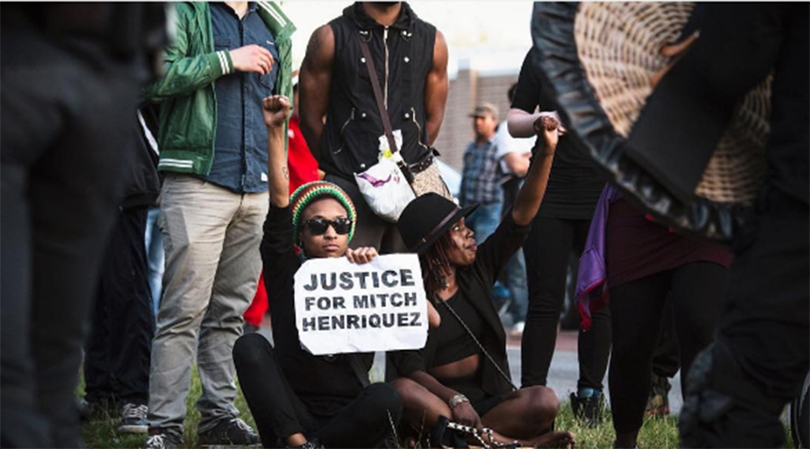 Dutch cops charged with manslaughter over black man's death in #BLM-like case