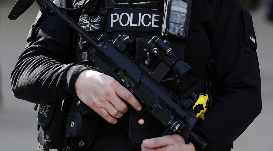 New armed anti-terrorism police on Britain's streets labeled 'PR stunt'