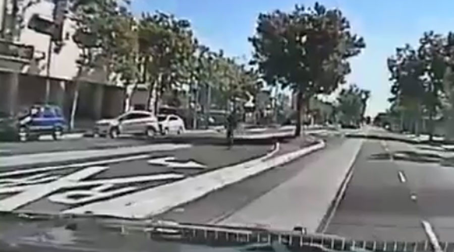 Dashcam shows mentally-ill man shot 14 times as he flees Sacramento police (GRAPHIC VIDEOS)