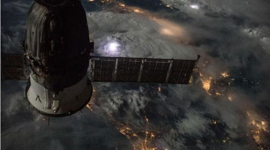 Breathtaking image of Mediterranean storm taken from Space Station (PHOTOS)