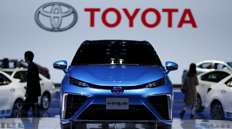 Poop power: Toyota using human waste based fuel to drive its new electric car