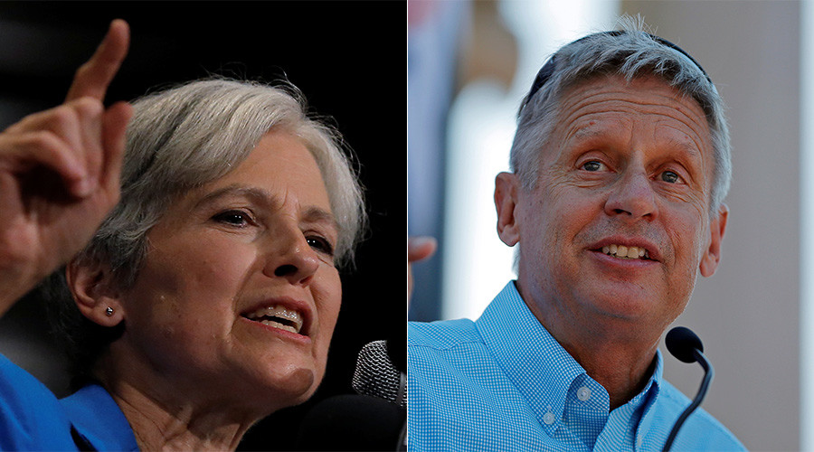Supporters plan to 'escort' Stein to first presidential debate, Johnson allies rally to 'let him in'