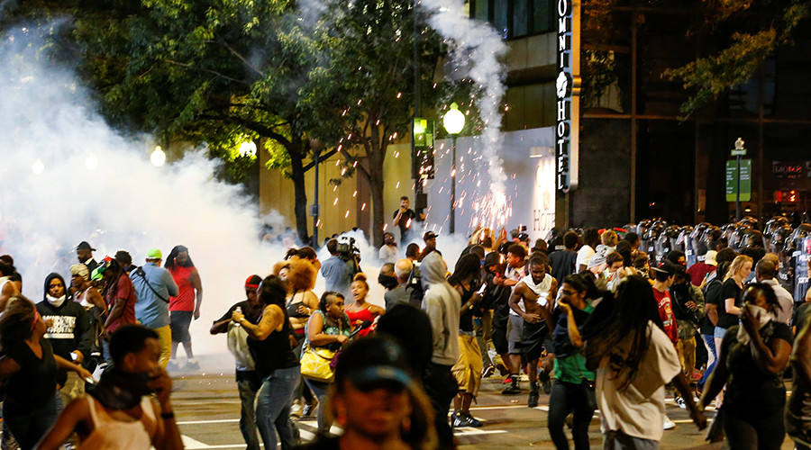 State of emergency: 1 shot, troops deployed as police brutality protests turn violent in Charlotte