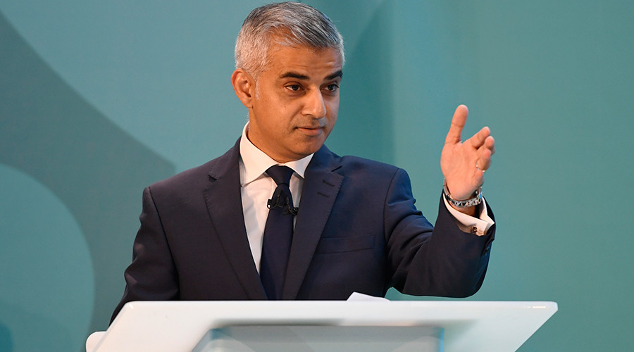 Mayor of London Sadiq Khan © Tony O'Brien
