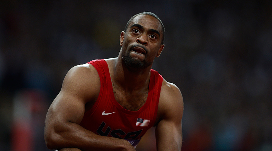 Tyson Gay of the U.S. © Dylan Martinez