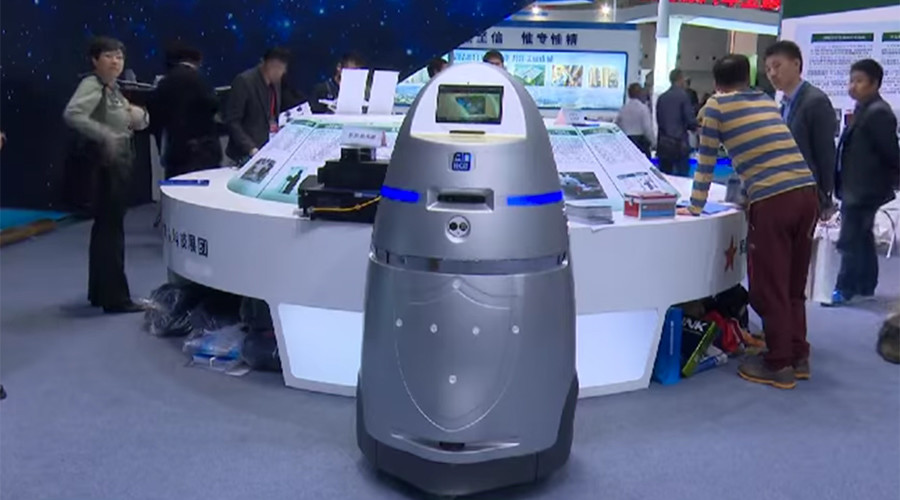 RoboCop: China's new airport security droid deters threats with cattle-prod (PHOTO)