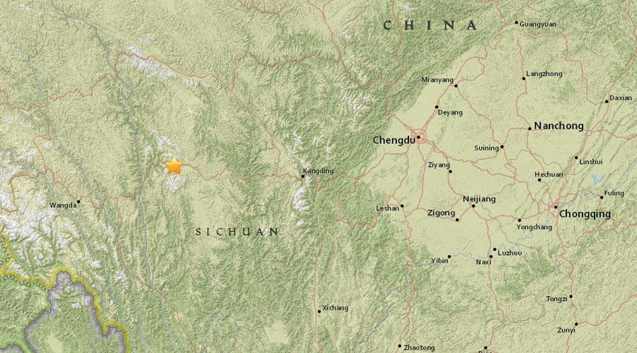 5.3 magnitude earthquake strikes China's Sichuan - USGS