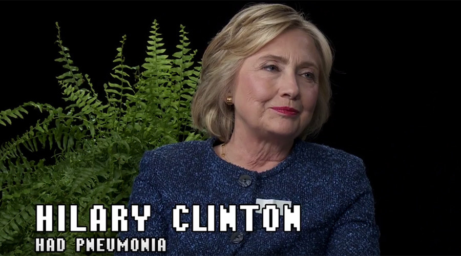 'I am not down with TPP': Hillary Clinton grilled on Between Two Ferns
