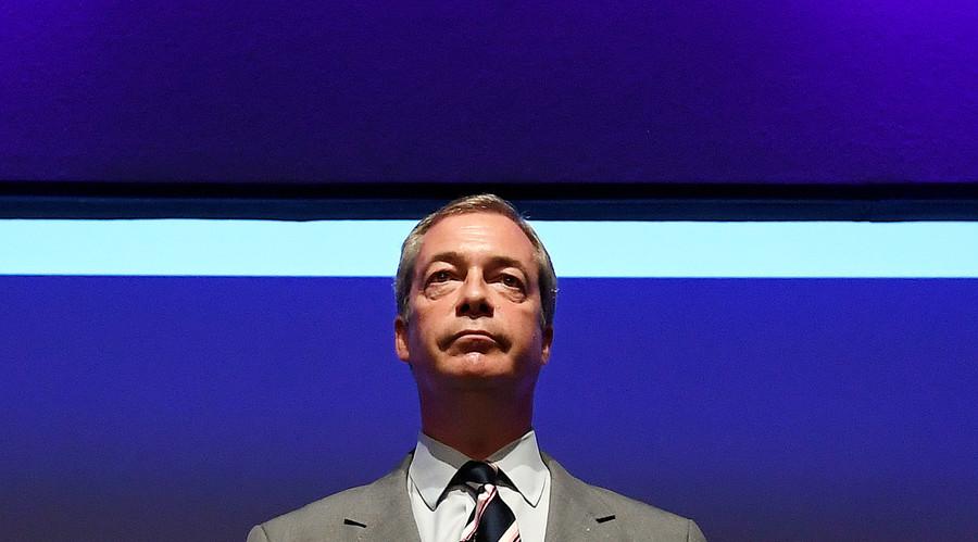 Nigel Farage in running for 'alternative Nobel prize for European freedom'